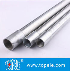 Chiny Electrical Galvanized Steel BS4568 Conduit GI Tube With Threaded Coupler, 10 Feet dostawca