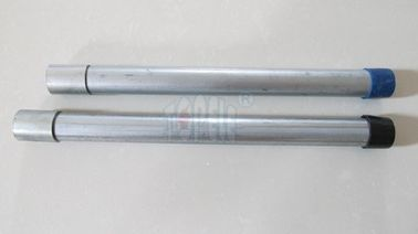 TOPELE GI Conduit Pipe with Electroplated Couplings BS4568 Galvanized Steel Conduit