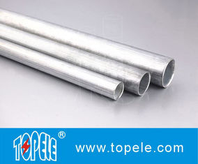 Chiny EMT Conduit And Fittings Carbon Steel Galvanised Tube , Electrical Metallic Tubing dostawca