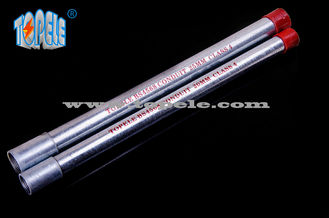 Chiny 20mm , 25mm Galvanized BS4568 Conduit Pipe , Steel Electrical Conduit GI Tube dostawca