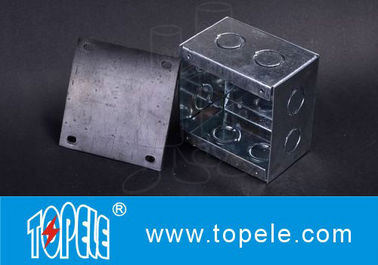 Chiny Steel Square Junction Box , Electrical Boxes And Covers For Lighting Fixtures fabryka