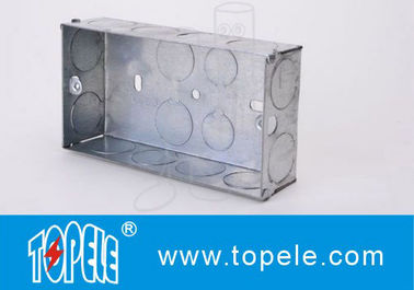 Chiny Galvanized Square Electrical Boxes And Covers For Lighting Fixture fabryka
