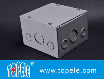 Chiny Steel Square Junction Box , Electrical Boxes And Covers Cable Switch Enclosures fabryka